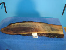 #6237 rustic wooden cheese platter serving tray rustic black walnut live edge