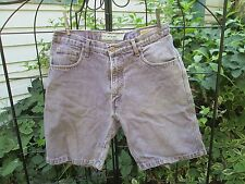 Quiksilver QSD Purple Shorts Denim 32 waist 9.5 inseam walking