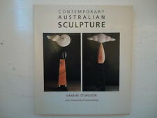 CONTEMPORARY AUSTRALIAN SCULPTURE by GRAEME STURGEON HBDJ 1991 FIRST EDITION ART