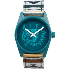 "Neff ""Daily Woven Watch"" (Camp) Unisex Pendleton Indian Analog Wristwatch"