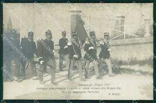 Perugia città 51º 52º Reggimento Fanteria Brigata Alpi Foto cartolina QT7798