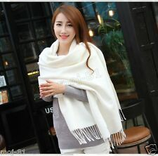 Winter Women's Thick Warm Pashmina 100% Cashmere Stole Scarves Scarf Shawl Wrap