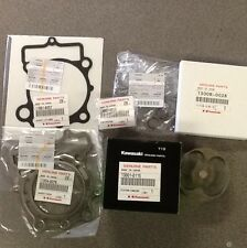 2010 Kawasaki KX250F OEM Top End Rebuild Kit Piston, Rings, Pin, Clips, Gaskets