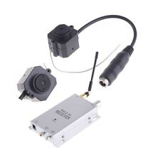 Mini Wireless 1.2Ghz CMOS Surveillance Camera Monitor With Radio AV Receiver