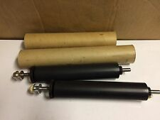"""Lot Of 2 Rollers Rubber Roll Assembly #120W-3609-AS 11""""--Printing"""