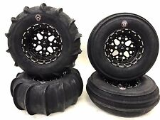 DWT GMZ Beadlock Sand Stripper Dune Paddle Tires Front Rear Can-Am Maverick X3