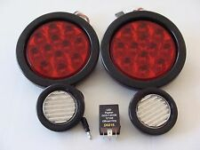 JEEP TJ TAIL LIGHT KIT FOR 2001-2006 TAIL LIGHT LED BACKUPS AND FLASHER RELAY