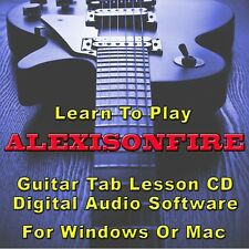 ALEXISONFIRE Guitar Tab Lesson CD Software - 38 Songs