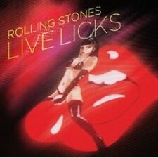 "THE ROLLING STONES ""LIVE LICKS (2009 REMAST.)"" 2 CD NEU"