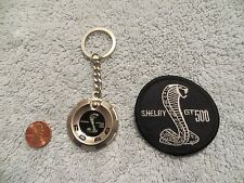 FORD SHELBY GT500  - KEYCHAIN & PATCH - VINTAGE ORIGINAL - RARE - MUSTANG GT-500