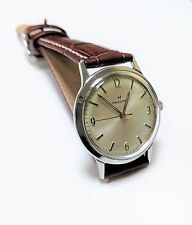 Vintage Hamilton M 69-2 Swiss Made Watch, Stainless Steel, Runs Great, cal 688