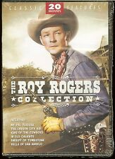 ROY ROGERS COLLECTION NEW 4-DVD SET 20 MOVIES with Dale Evans George Gabby Hayes
