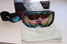 DRAGON ROGUE SNOW GOGGLE GRADIENT LOGO PINK W/ PINK IONIZED LENS BRAND NEW