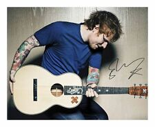 ED SHEERAN AUTOGRAPHED SIGNED A4 PP POSTER PHOTO