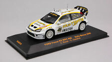 Ford RS WRC #46 Focus Valentino Rossi Monza Rally 2006 1:43 Model RAM255