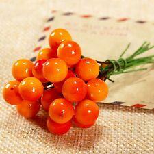 50/100pcs Artificial Berries Flower Stamen Home Gift Wedding Decor DIY Craft