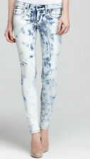 NWT $168 JOE'S JEANS The Skinny Tie Dye Stretch Denim Jeans Wonderland - Sz 28
