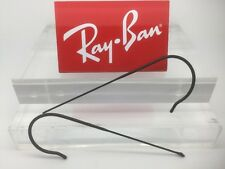 Authentic Rayban RB 3025 3026 3030 or 3029 Black Replacement CABLE wrap temples