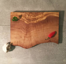Cutting Board Olive Wood Raw Edge/ Chopping Board / Cheese Board, handcrafted