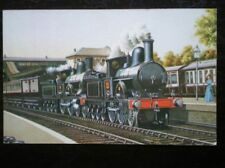 POSTCARD L & NWR WEBB COMPOUND PILOTED BY 'PRECEDENT' CLASS LOCO PASSING CHALK F