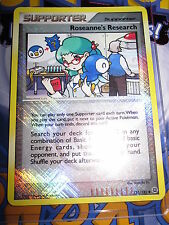 POKEMON NEUF PROMO LEAGUE LIGUE ROSEANNE'S RESEARCH REVERSE FOIL 125/132 MINT