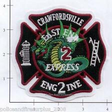 Indiana - Crawfordsville Engine 2 IN Fire Dept Patch