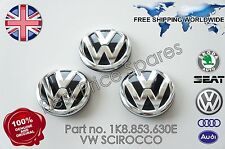 VW SCIROCCO REAR TAILGATE  BADGE  EMBLEM GENUINE 1K8853630E