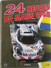 LE MANS 24 HOURS 1998 YEARBOOK / ANNUAL MOITY BOOK ISBN:2930120355 FRENCH