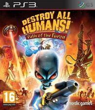 Destroy All Humans! Path Of The Furon PS3 * NEW SEALED PAL *