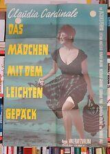 Das Mädchen mit dem leichten Gepäck - Filmposter Filmplakat -  Claudia Cardinale