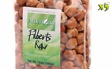 60oz Gourmet Style Bags of ExtraLarge Premium Raw Filberts/Hazelnuts [3 3/4 lbs]