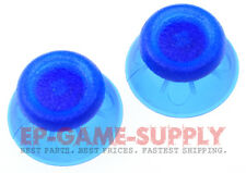 2x Transparent Blue Analog Thumbstick Thumb Stick Cap PS4 DualShock Controller