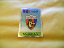 FIGURINE PANINI-CALCIATORI 89-90-LOGO-BADGE-BANDIERA COSENZA 400-N.-1989/1990