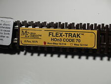 MICRO ENGINEERING #10-114 HOn3 SCALE FLEX TRACK CODE -70 NON WEATHERED