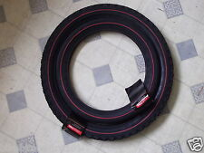 "Genuine Raleigh Chopper Front & Rear Tyre Set Redline Sidewall Retro NEW 20"" 16"""