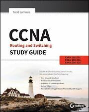 Free Ship -CCNA - Routing and Switching Study Guide by Lammle 1st ed