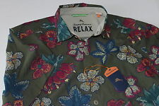 Tommy Bahama Camp Shirt Puerto Flora Beetle Green New Large L T314667