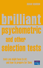 Brilliant Psychometric and Other Selection Test Results,GOOD Book