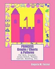 PRINCESS Graphs / Charts and Patterns : For Knit, Crochet, Cross Stitch,...