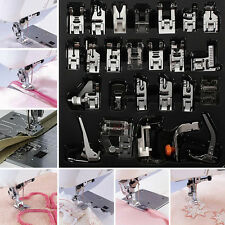 32pcs Domestic Sewing Machine Presser Foot Feet Set for Brother Janome Singer