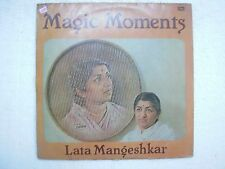 LATA MANGESHKAR MAGIC MOMENTS 1984 RARE LP RECORD vinyl india hindi bollywood EX