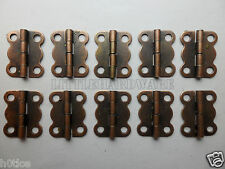 10pcs metal small hinges parliament hinges jewelry box hinges decorative hinges