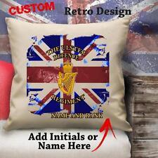 Personalizado de Defensa del Ulster Regimiento Militar Cojín Cubierta De Lona De Regalo