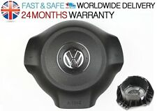 VW GOLF MK6 PASSAT CC TOURAN POLO NEW STEERING DRIVER PLUG AIRBAG COVER GENUINE