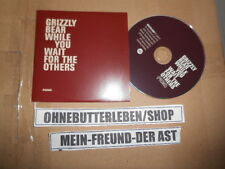 CD Indie Grizzly Bear-while you wait for the others (2 chanson) promo warp rec CB