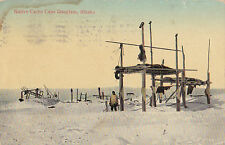 POSTCARD NATIVE CAPE DOUGLASS ALASKA ( NOME ) 1917  11-29