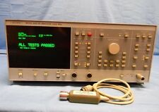 Wiltron 6409 RF Network Analyzer 10-2000MHz (Upgraded 6407) w/ 560-7A50 Detector