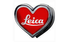 Leica Red Logo Heart Shape Fridge Magnet Memo Holder