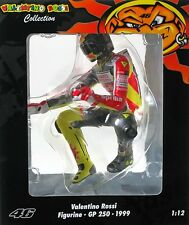 MINICHAMPS VALENTINO ROSSI 1/12 PILOTA 1999 WC FIGURE RIDING FIGURINE 312990146