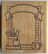 Darcie's Wooden Rubber Stamp Teacher Frame